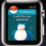 pokemon spawning on apple watch