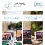 duet display app store deal