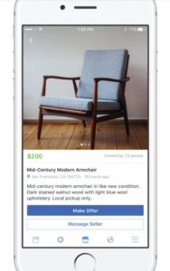 facebook marketplace item information