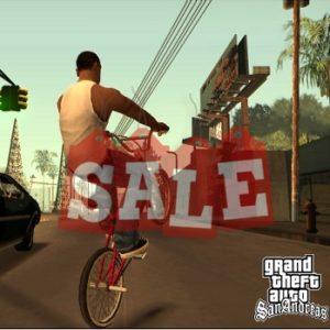 GTA San Andreas Sale