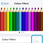 ios color filters setting