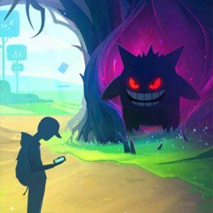 pokemon go halloween theme