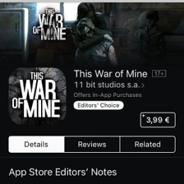 This War of Mine for iOS