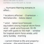 weather underground hurricane warning