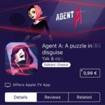 Agent A: A puzzle in disguise sale