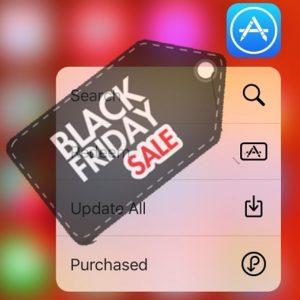 App Store Black Friday Sales