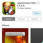 Appointment with FEAR App Store download page