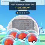 First PokeStop of the day streak
