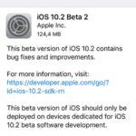 iOS 10.2 Beta 2 Software Update