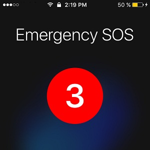 iOS 10.2 Emergency SOS feature for iPhone