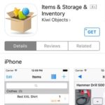 Items & Storage & Inventory App Store Promo