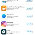 update all app store apps option