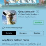 goat simulator free app of the week