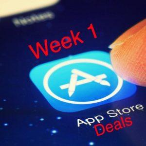 App Store Deals - Week 1
