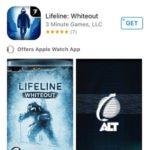 lifeline whiteout app store listing