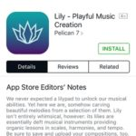 installing lily playful music creation on iphone