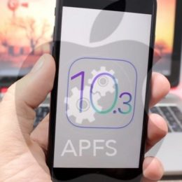 ios 10.3 apfs on iphone