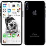 iphone 8 rear side render