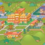 toca life school playing map