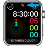apple watch theater mode status bar