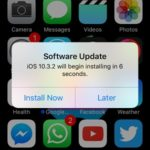 ios 10.3.2 software update install now
