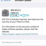ios software update size
