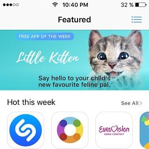 little kitten free app of the week
