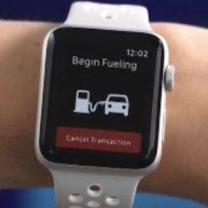 speedpass+ begin fueling apple watch screen