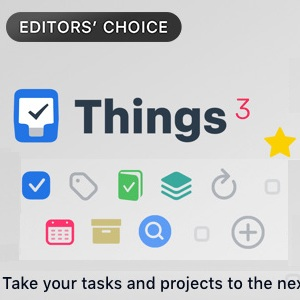 Things 3 App Store promo