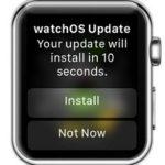 watchos update confirmation