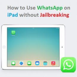 whatsapp installed on ipad