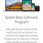 apple beta software program sign in