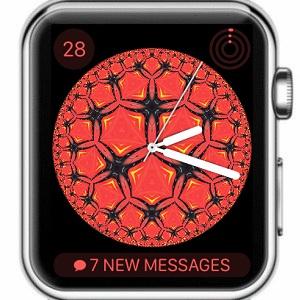 apple watch kaleidoscope watch face
