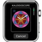create kaleidoscope watch face from apple watch