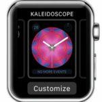 customise kaleidoscope watch face in watchos 4
