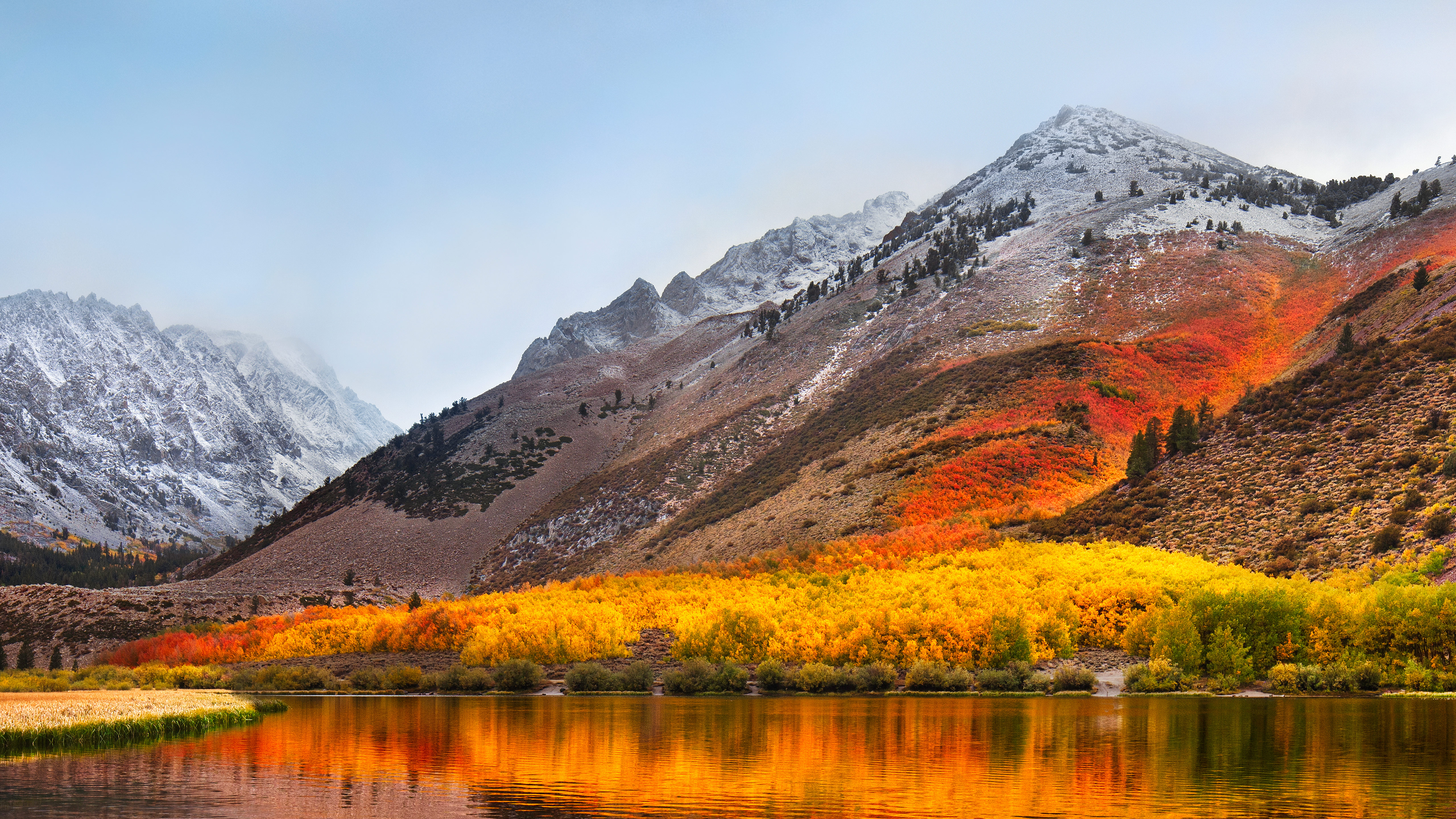 macOS High Sierra wallpaper for computers
