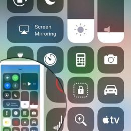 preview screenshot thumbnail in iOS 11