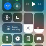 screenshot on iPhone running iOS 11