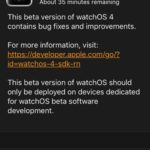 watchos 4 developer beta 2 downloading to watch