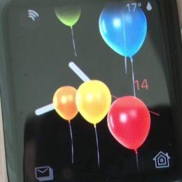 watchos 4 happy birthday balloons animation