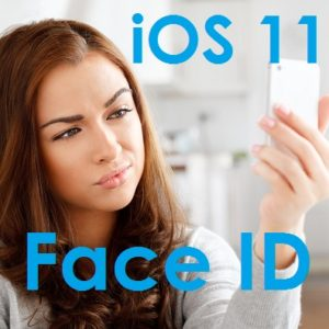 iPhone X Face ID feature