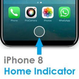 iphone 8 home indicator