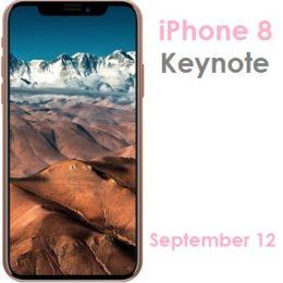 iphone 8 september 12 keynote