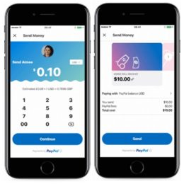 Skype PayPal payment demo on iPhone