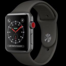 apple watch series 3 lte model