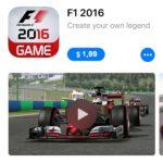 f1 2016 app store sale