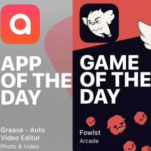 graava and fowlst app and game of the day