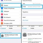 how to delete ios 11 beta software profile