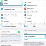 how to tweak location services settings