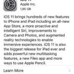 ios 11 golden master software update screen